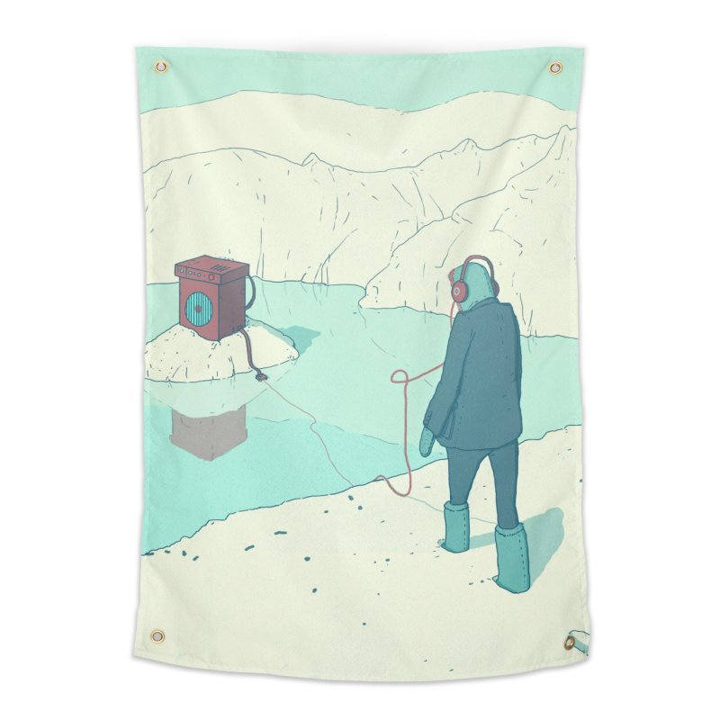 Arctic Sounds Home Tapestry by Laurent's Artist Shop