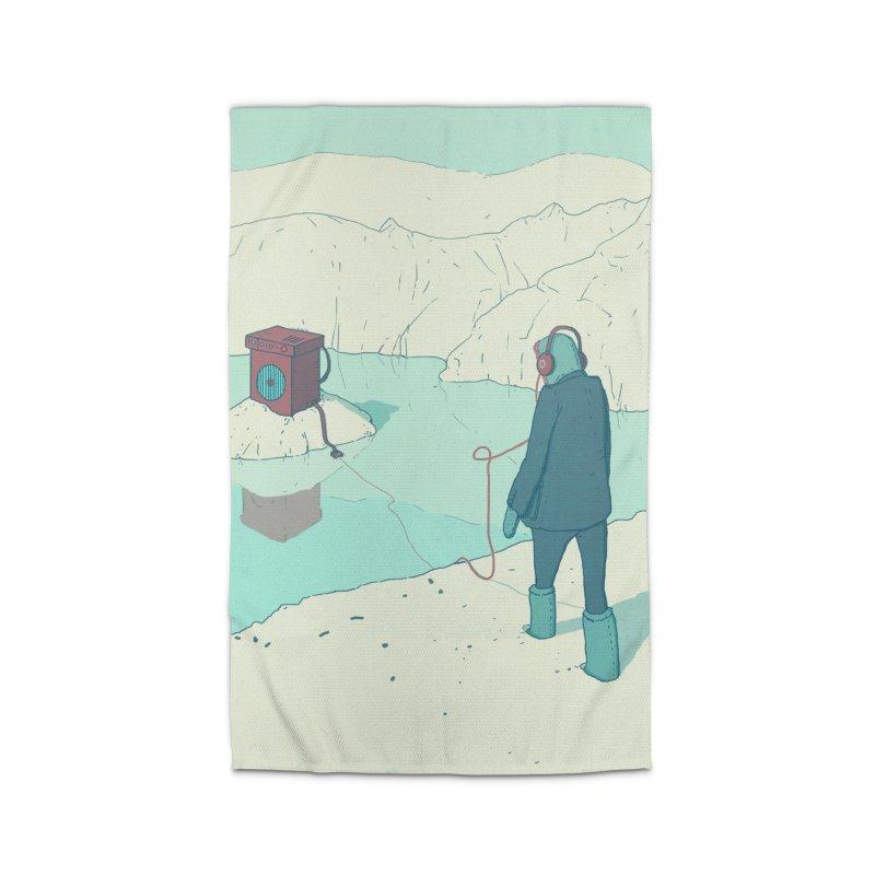 Arctic Sounds Home Rug by Laurent's Artist Shop