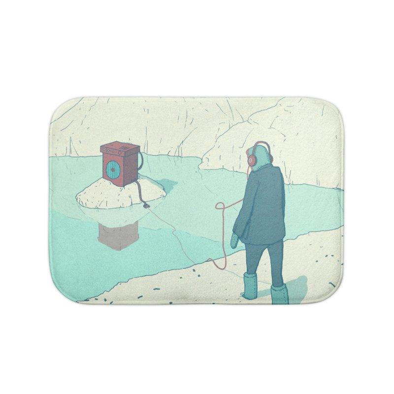 Arctic Sounds Home Bath Mat by Laurent's Artist Shop