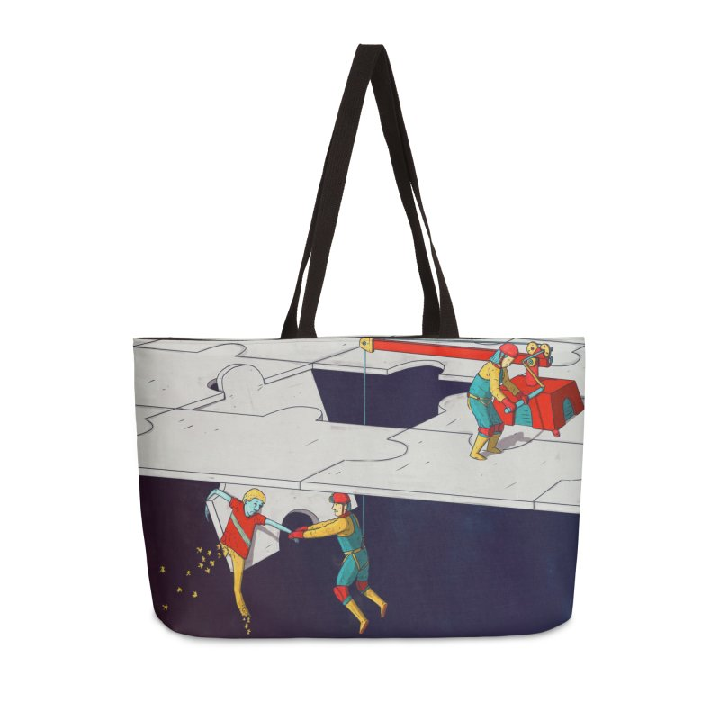The Helpers Accessories Bag by Laurent's Artist Shop