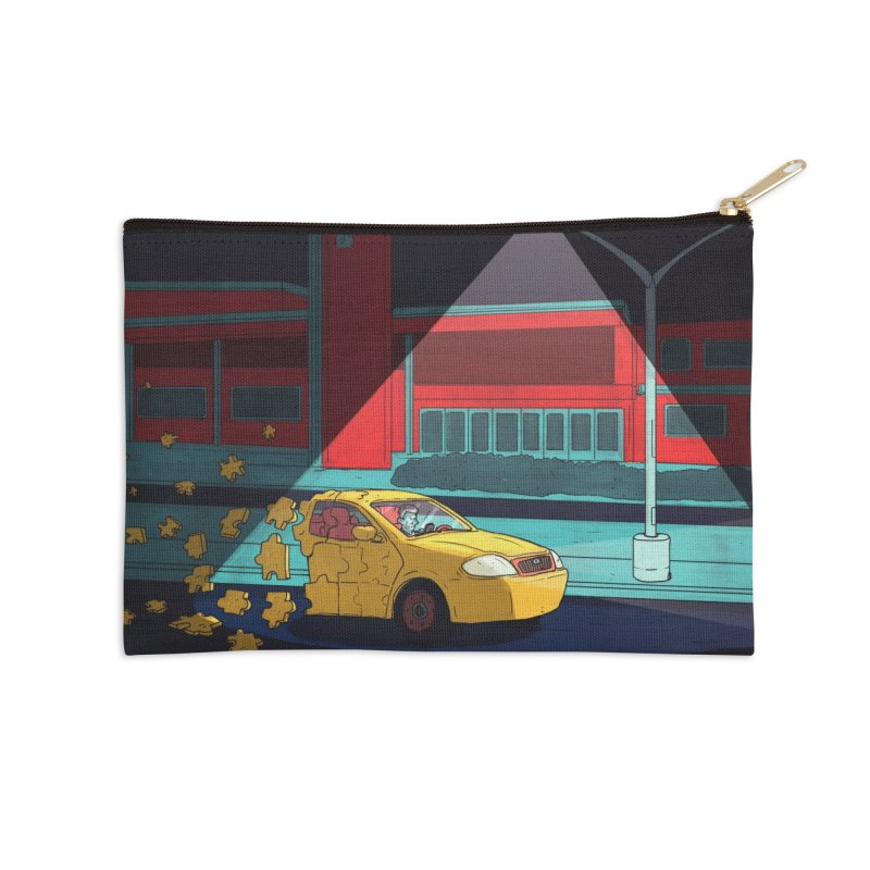 Alone Accessories Zip Pouch by Laurent's Artist Shop