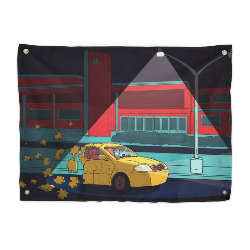Alone Home Tapestry by Laurent's Artist Shop
