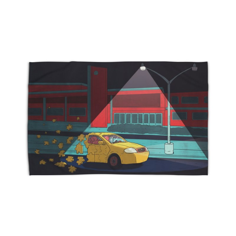 Alone Home Rug by Laurent's Artist Shop