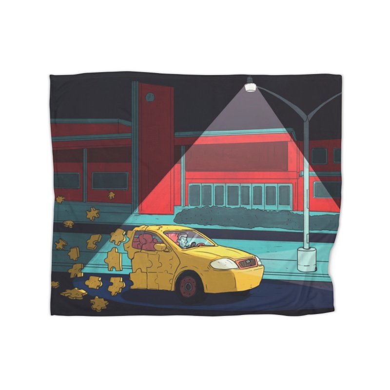 Alone Home Blanket by Laurent's Artist Shop