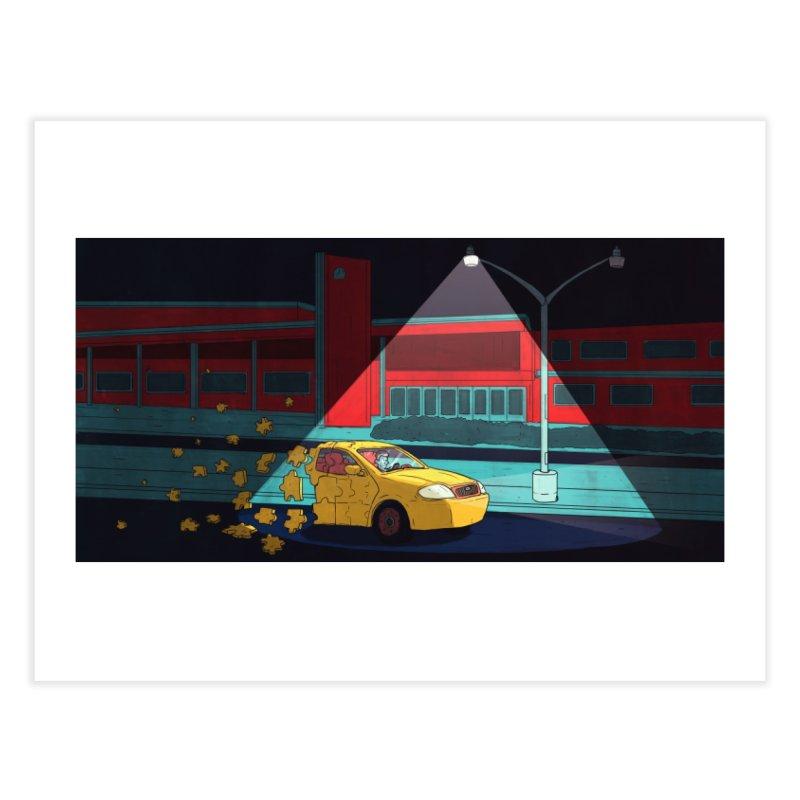Alone Home Fine Art Print by Laurent's Artist Shop
