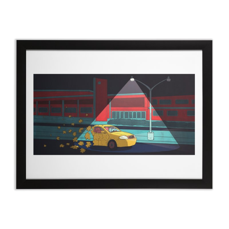 Alone Home Framed Fine Art Print by Laurent's Artist Shop