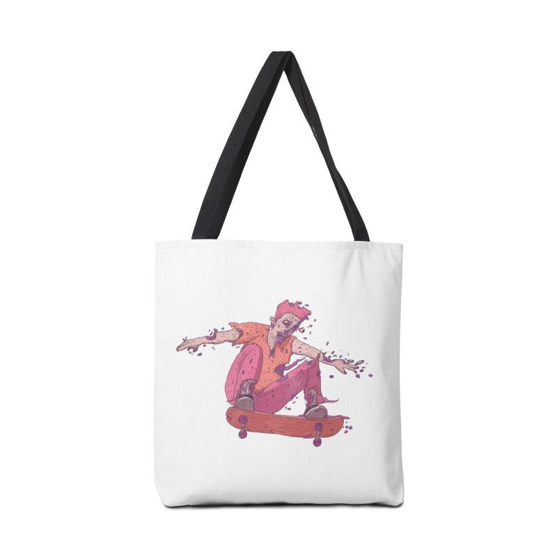 Zombie Skater #1 Accessories Bag by Laurent's Artist Shop