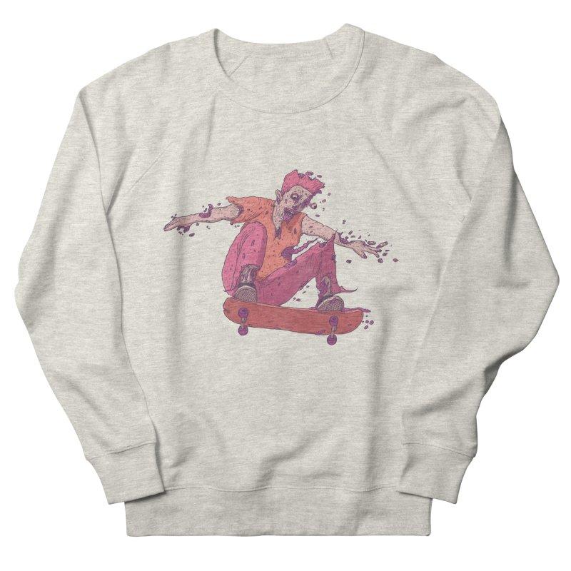 Zombie Skater #1 Men's Sweatshirt by Laurent's Artist Shop