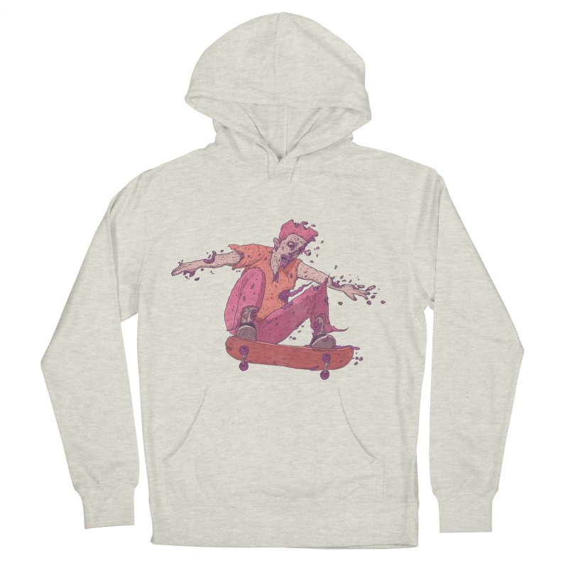Zombie Skater #1 Men's Pullover Hoody by Laurent's Artist Shop