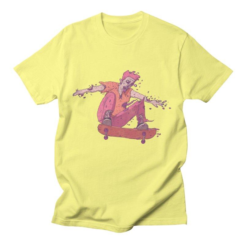 Zombie Skater #1 Men's T-Shirt by Laurent's Artist Shop