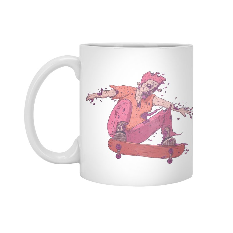 Zombie Skater #1 Accessories Mug by Laurent's Artist Shop