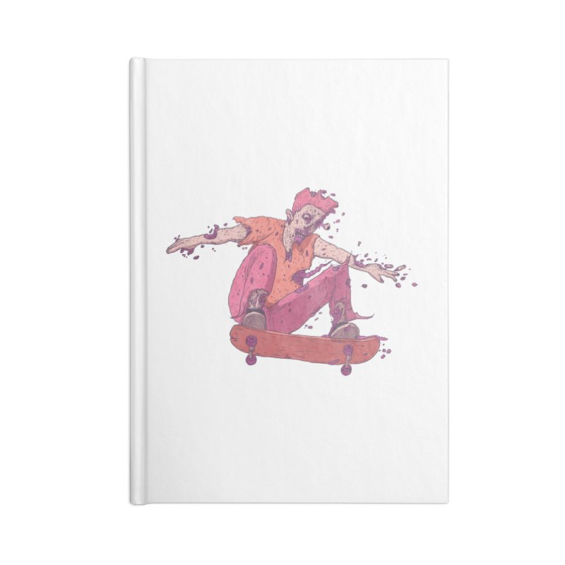 Zombie Skater #1 Accessories Notebook by Laurent's Artist Shop