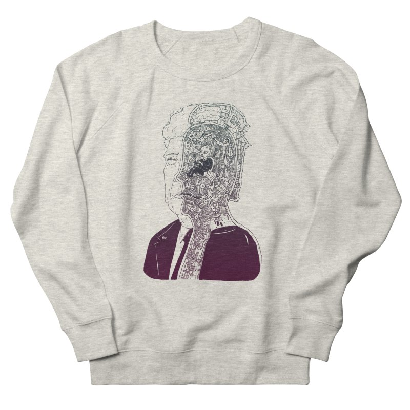 Inside Drumpf Men's French Terry Sweatshirt by Laurent's Artist Shop
