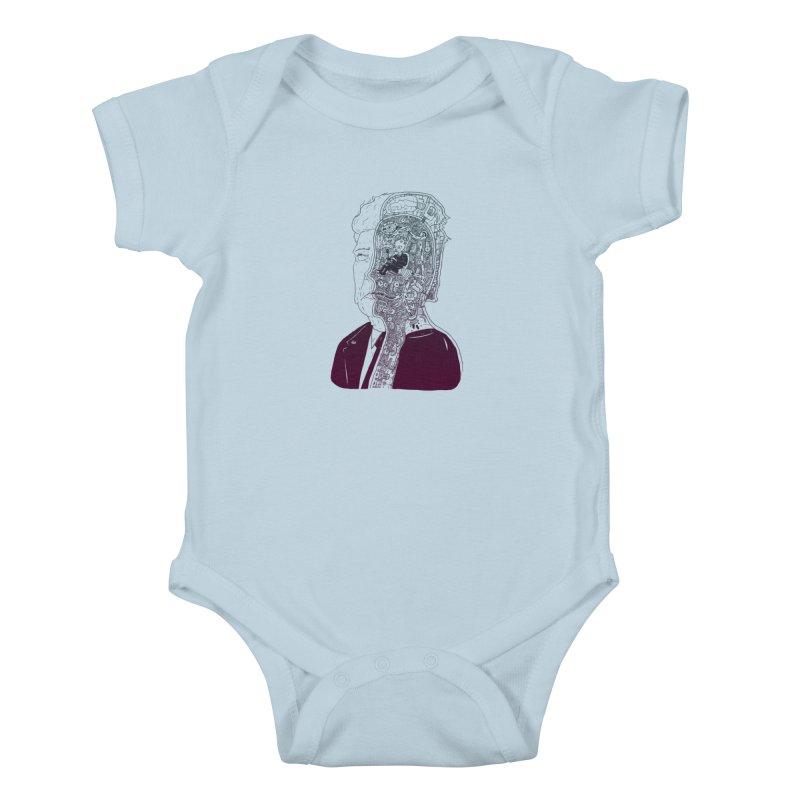 Inside Drumpf Kids Baby Bodysuit by Laurent's Artist Shop