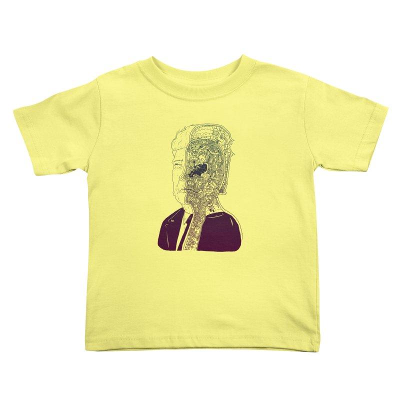 Inside Drumpf Kids Toddler T-Shirt by Laurent's Artist Shop