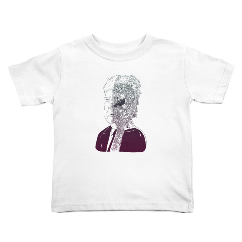 Inside Drumpf Kids Toddler T-Shirt by Laurent's Artist Shop