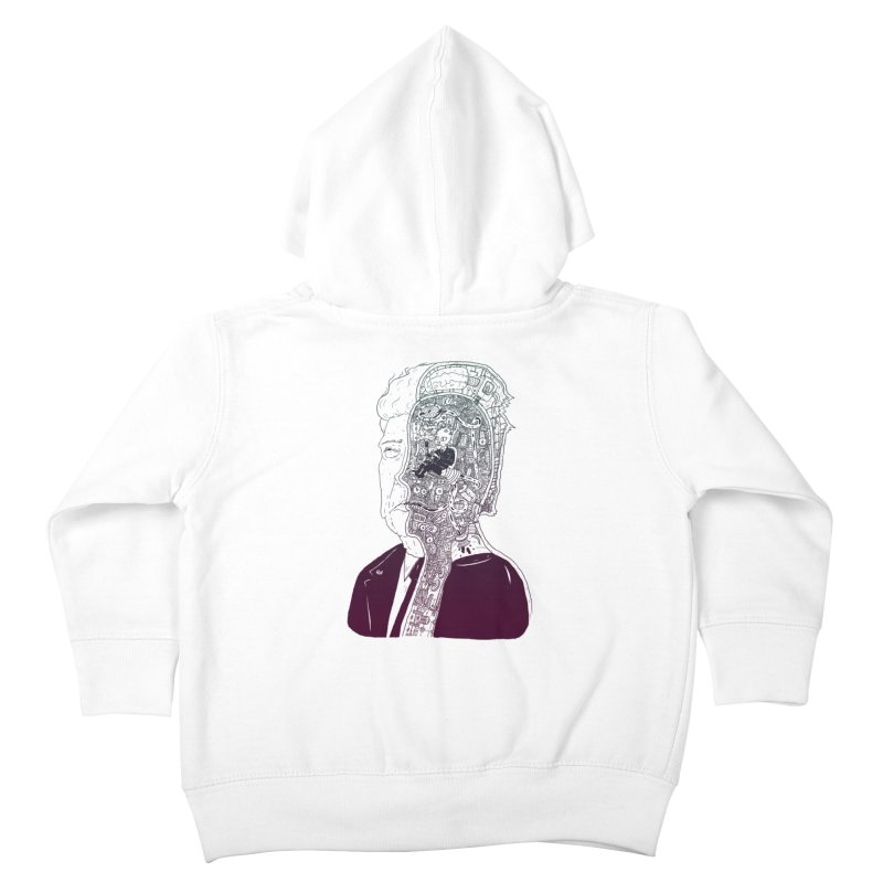 Inside Drumpf Kids Toddler Zip-Up Hoody by Laurent's Artist Shop