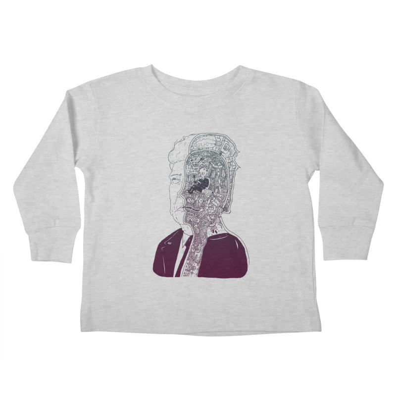 Inside Drumpf Kids Toddler Longsleeve T-Shirt by Laurent's Artist Shop