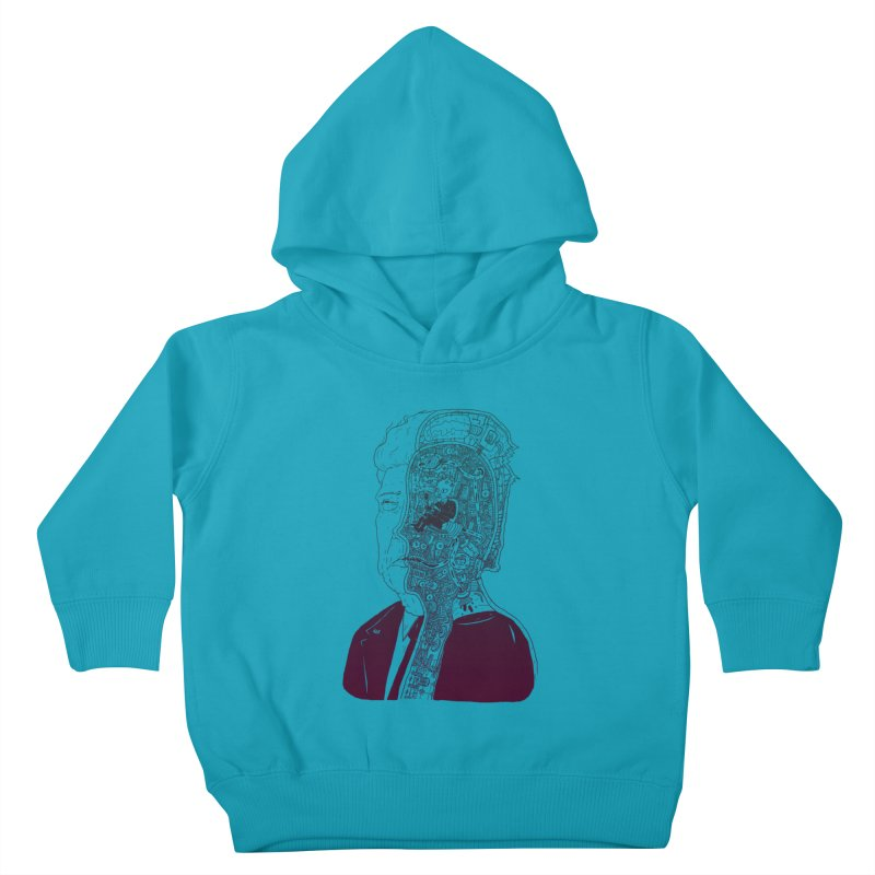 Inside Drumpf Kids Toddler Pullover Hoody by Laurent's Artist Shop
