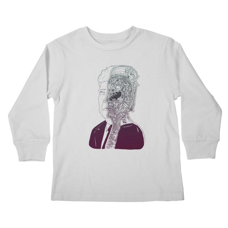 Inside Drumpf Kids Longsleeve T-Shirt by Laurent's Artist Shop