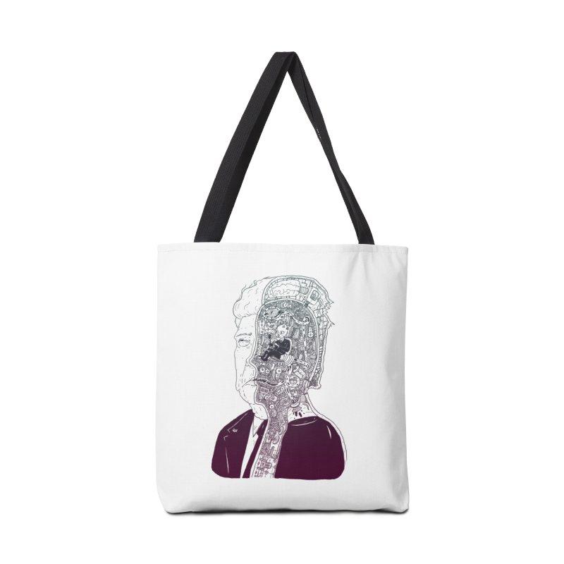 Inside Drumpf Accessories Bag by Laurent's Artist Shop