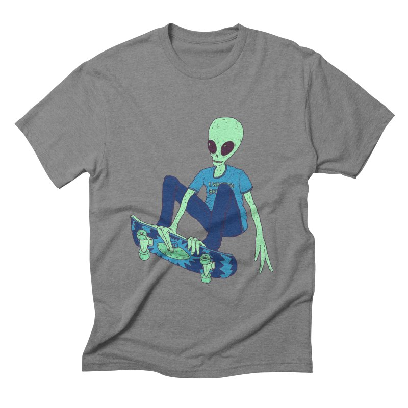 Alien Skater   by Laurent's Artist Shop