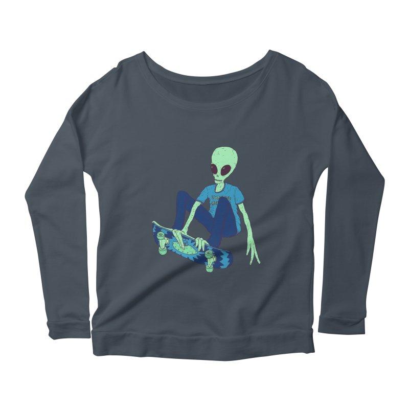 Alien Skater   by Laurent's Artist Shop