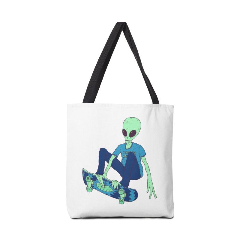 Alien Skater Accessories Bag by Laurent's Artist Shop