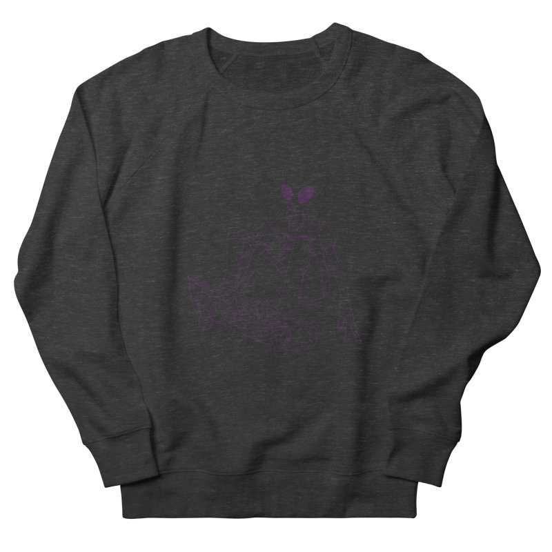 Alien Skater - Alt Men's Sweatshirt by Laurent's Artist Shop