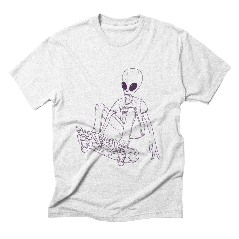 Alien Skater - Alt   by Laurent's Artist Shop