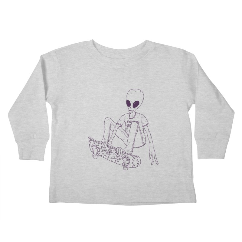 Alien Skater - Alt   by Laurent's Artist Shop