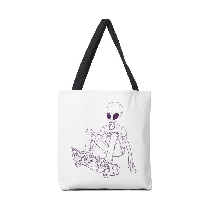 Alien Skater - Alt Accessories Bag by Laurent's Artist Shop