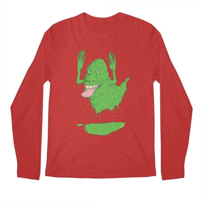 Slimer Men's Longsleeve T-Shirt by Laurent's Artist Shop