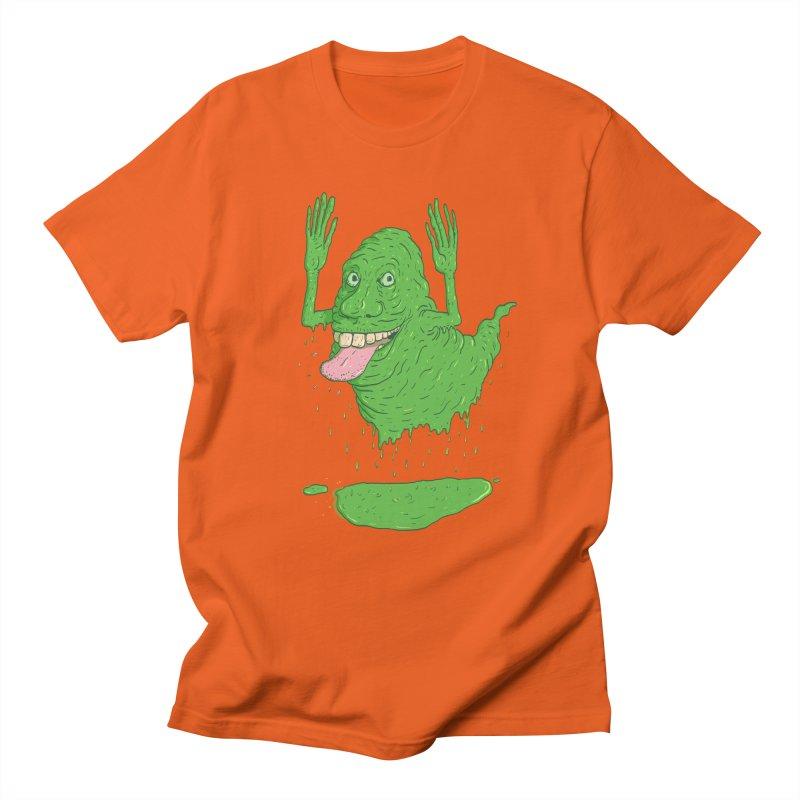 Slimer Men's Regular T-Shirt by Laurent's Artist Shop