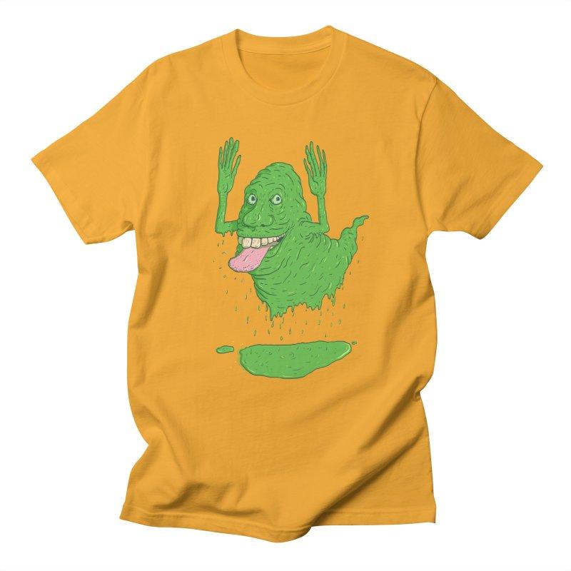 Slimer Men's T-Shirt by Laurent's Artist Shop