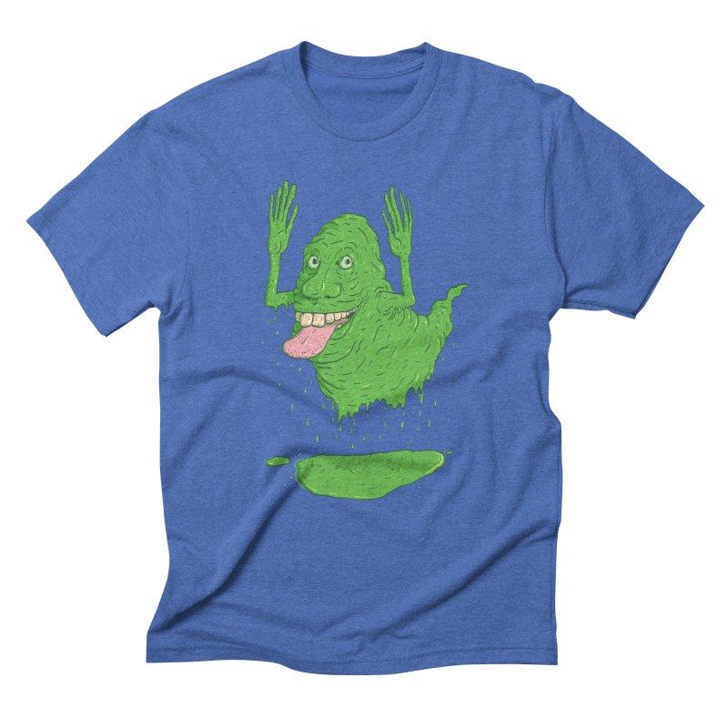 Slimer Men's Triblend T-Shirt by Laurent's Artist Shop