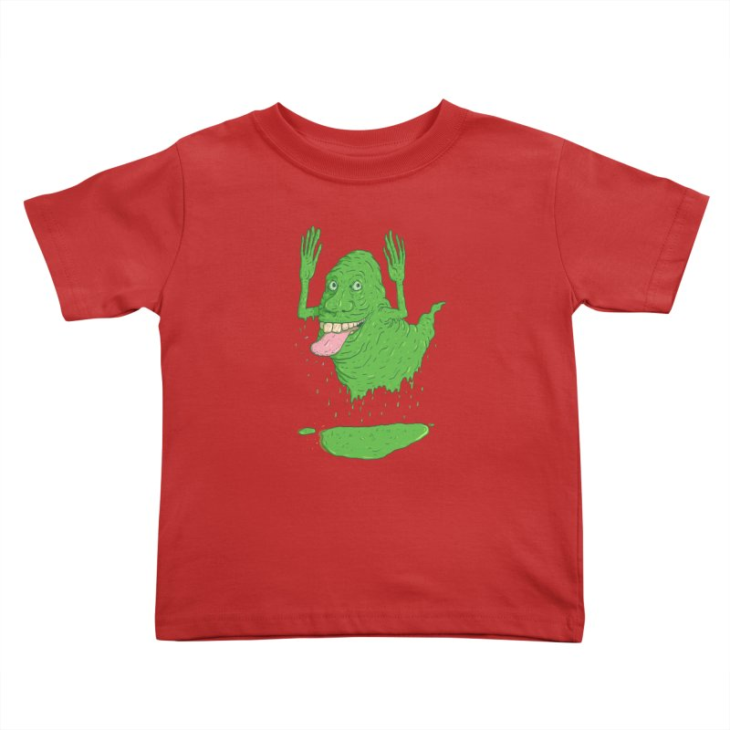 Slimer Kids Toddler T-Shirt by Laurent's Artist Shop