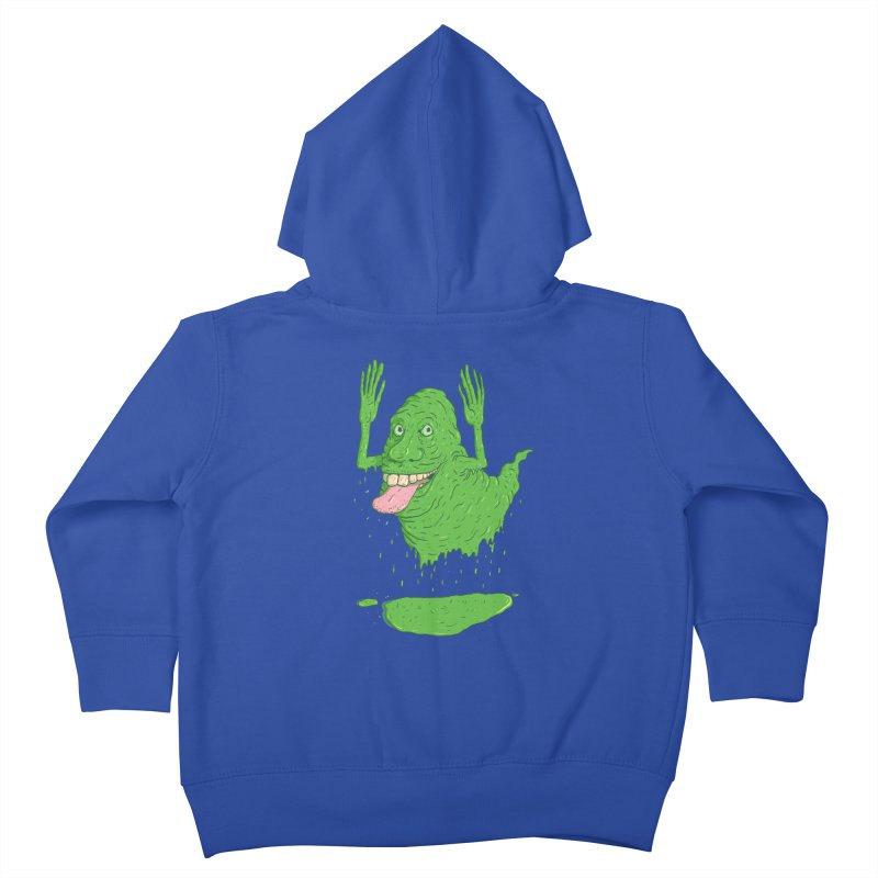 Slimer Kids Toddler Zip-Up Hoody by Laurent's Artist Shop