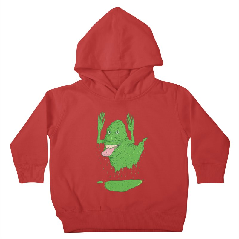 Slimer Kids Toddler Pullover Hoody by Laurent's Artist Shop