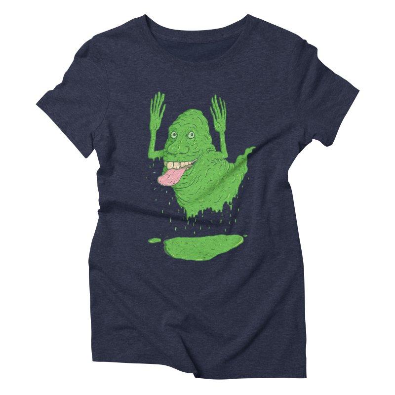 Slimer Women's Triblend T-shirt by Laurent's Artist Shop