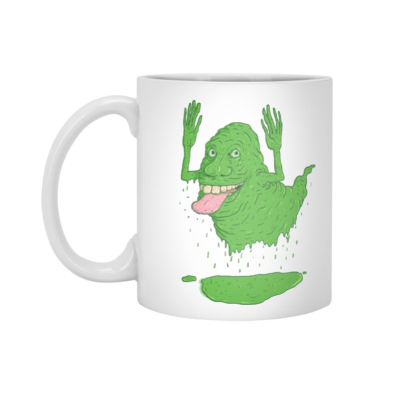 Slimer Accessories Mug by Laurent's Artist Shop