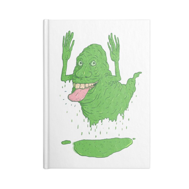 Slimer Accessories Notebook by Laurent's Artist Shop