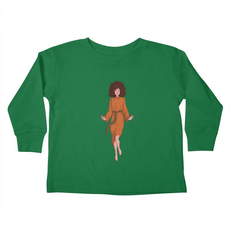 Zuul Kids Toddler Longsleeve T-Shirt by Laurent's Artist Shop