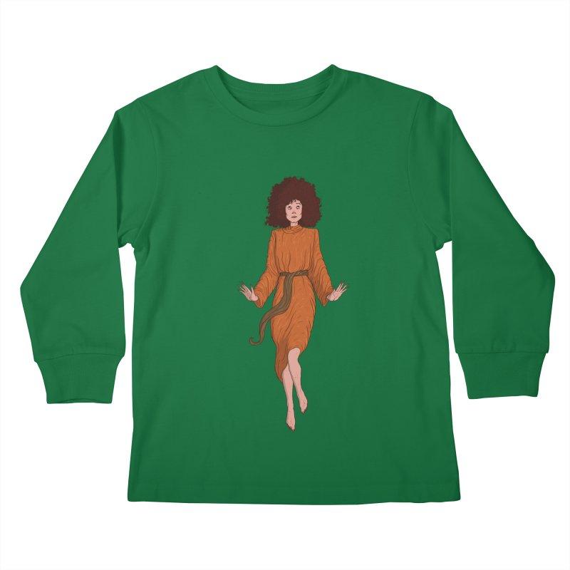 Zuul Kids Longsleeve T-Shirt by Laurent's Artist Shop