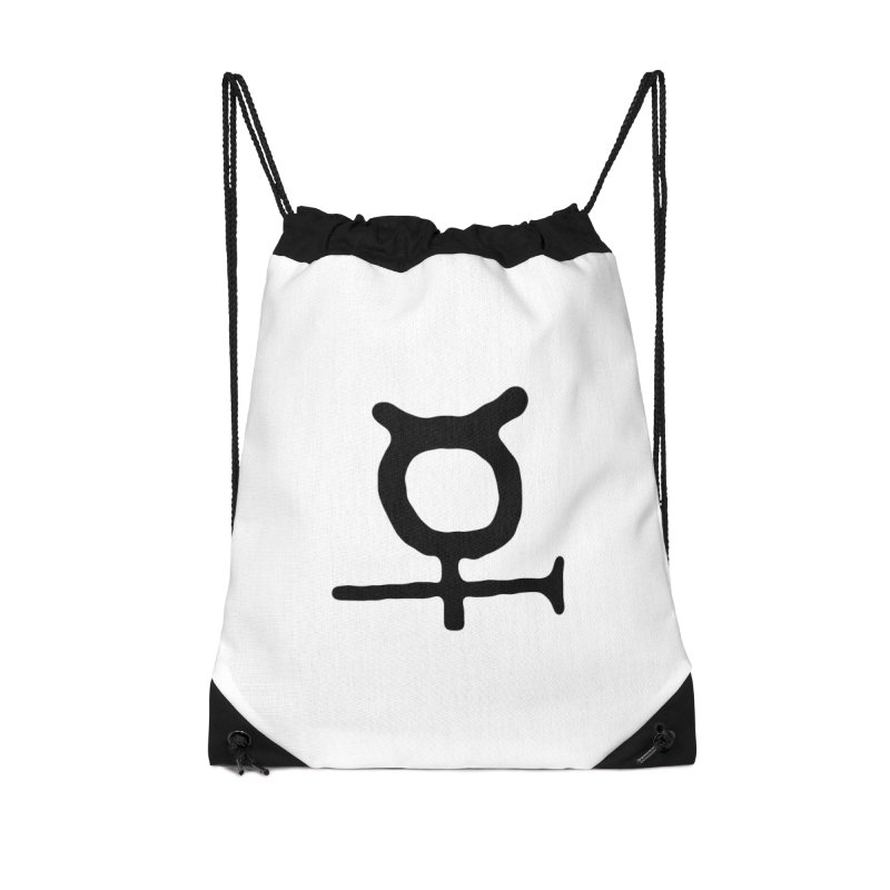 Past & Future Collection Accessories Drawstring Bag Bag by Laurent Colson's Artist Shop