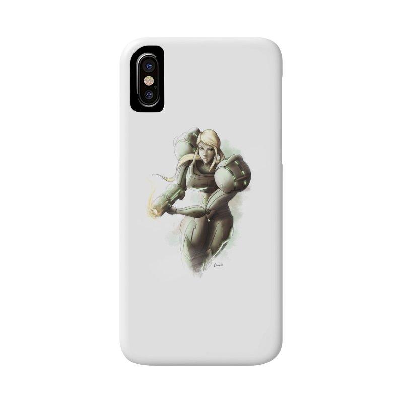 Samus - Battle Mode ON Accessories Phone Case by Laurie's Artist Shop