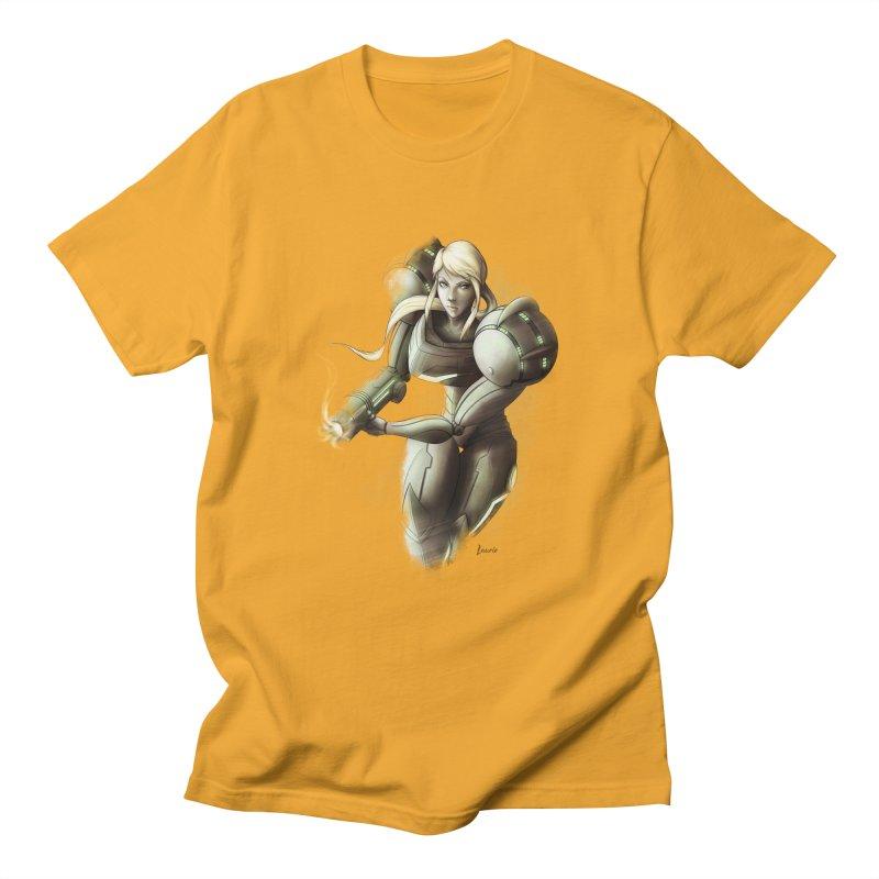 Battle Mode ON Men's T-shirt by Laurie's Artist Shop