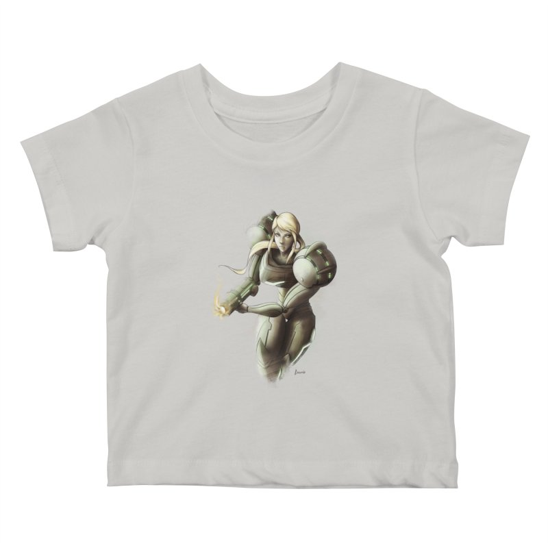 Battle Mode ON Kids Baby T-Shirt by Laurie's Artist Shop