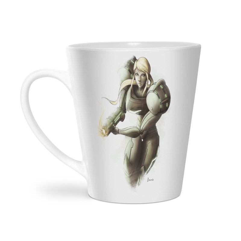 Samus - Battle Mode ON Accessories Mug by Laurie's Artist Shop