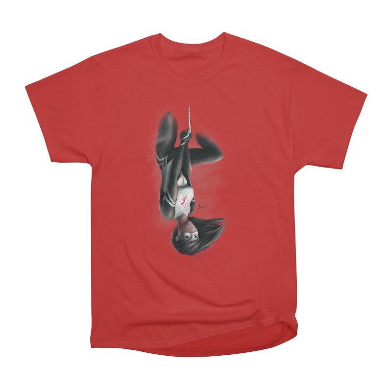 Hanging on Silk Women's Heavyweight Unisex T-Shirt by Laurie's Artist Shop